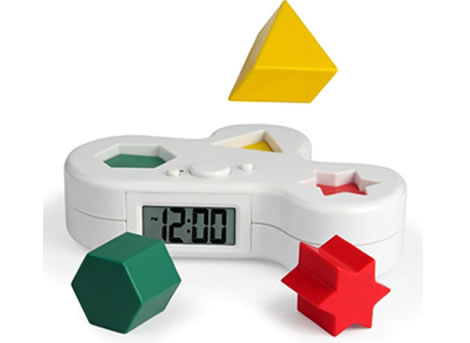 Digital Puzzle Alarm Clock