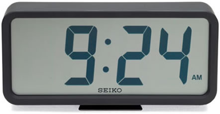 Digital Clock by Seiko