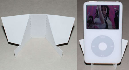 Business Card iPhone / iPod Stand