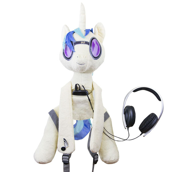 dj pony backpack