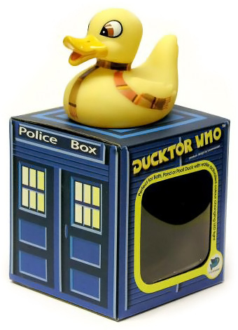 Ducktor Who Doctor Who Bath Duck