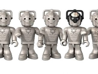 Doctor Who Character Building Cyberman Collector Set