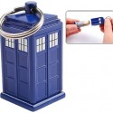 Doctor Who TARDIS Secret Bank Keychain