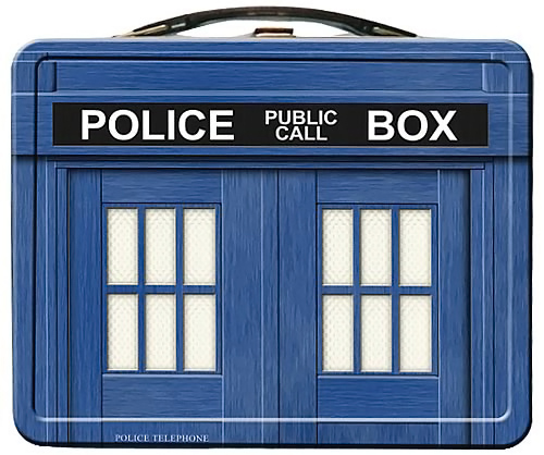 Doctor Who TARDIS Lunchbox