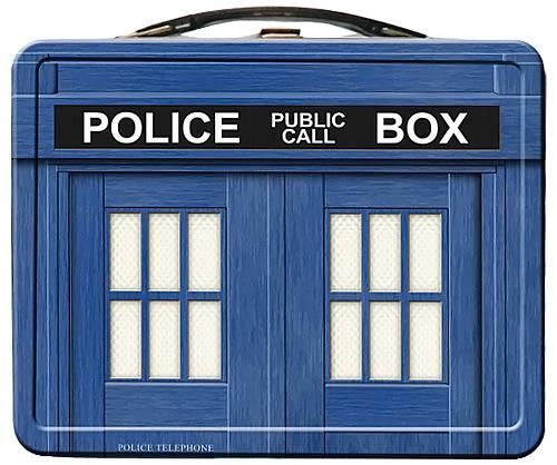 Doctor Who TARDIS Lunchbox