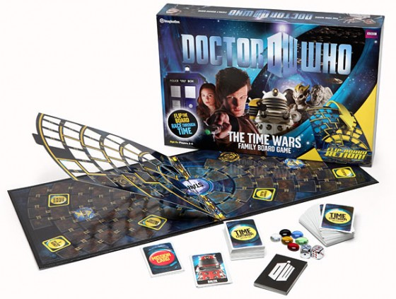 Doctor Who The Time Wars Board Game