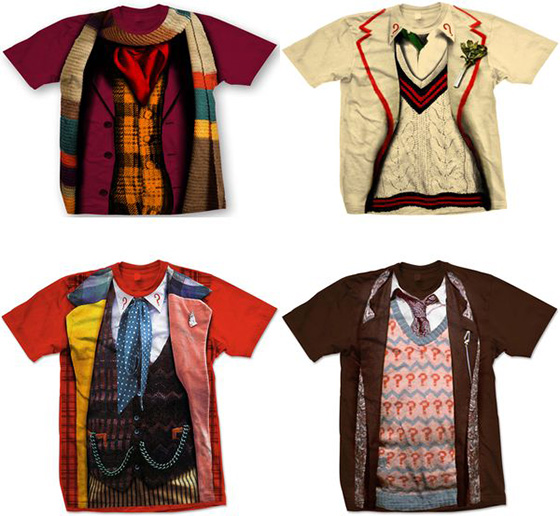 Doctor Who T-Shirt Costumes