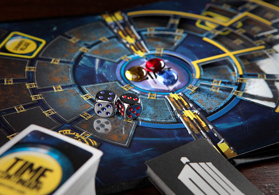Dr Who The Time Wars Board Game