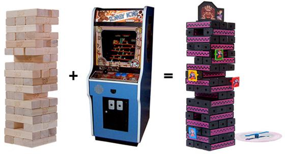 Donkey Kong Jenga Game