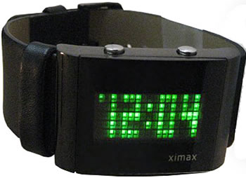 LED Dot Matrix Display Watch
