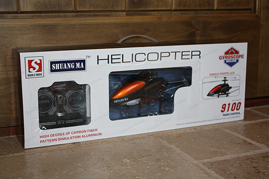Double Horse 9100 RC Helicopter in Box