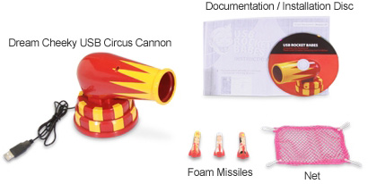Dream Cheeky USB Circus Cannon Kit