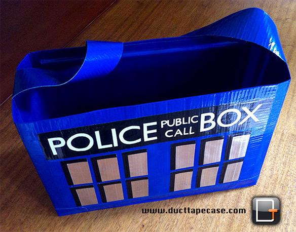 Duct Tape Tardis Bag