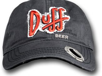 Simpsons Duff Beer Bottle Opener Cap