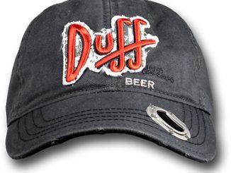Simpsons Duff Beer Bottle Opener Cap