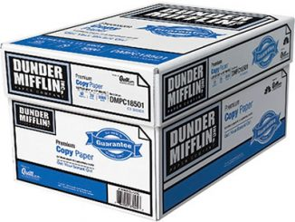 Dunder Mifflin Copy Paper