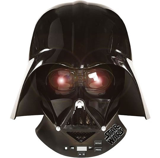 Darth Vader Radio and CD Player