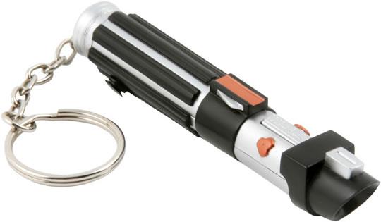 Star Wars Lightsaber Mini LED Flashlight