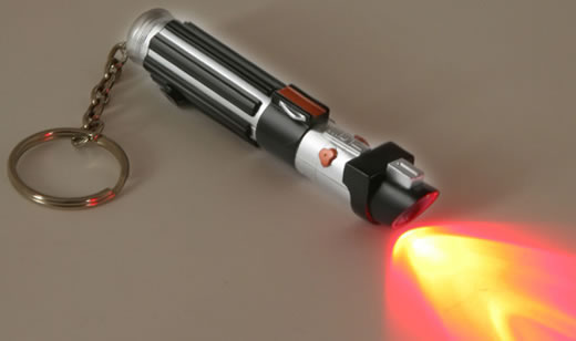 Star Wars Lightsaber Mini LED Flashlight