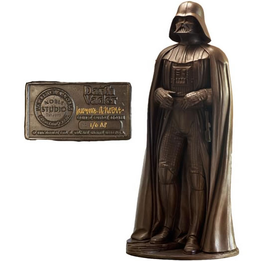 Darth Vader Bronze Statue by Lawrence Noble