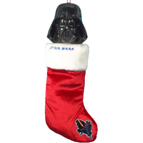Talking Darth Vader Christmas Stocking