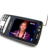 DVB-T 3-Inch Touchscreen Cell Phone