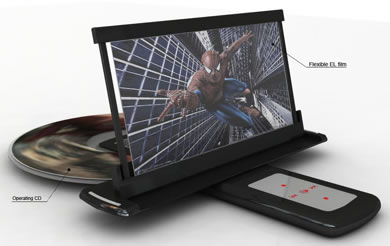 Portable DVD Player Concept