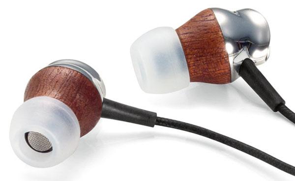 e5 Wood Earphones