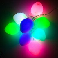 Colorful USB Easter Egg LED Light