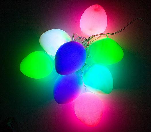 Colorful USB Easter Egg LED Light