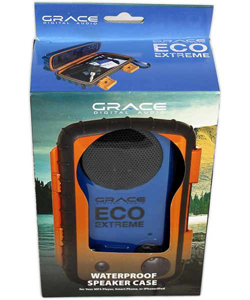 Eco Extreme Waterproof Speaker Case Box