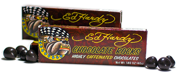 Ed Hardy Caffeinated Chocolate Rocks
