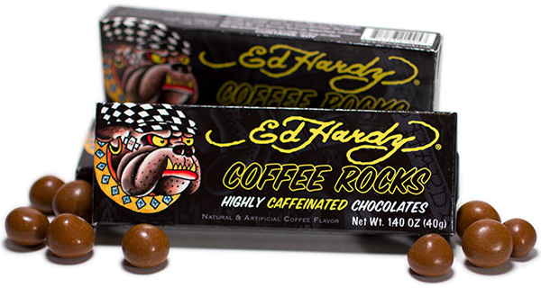 Ed Hardy Caffeinated Coffee Rocks