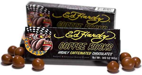 Ed Hardy Caffeinated Coffee Rocks