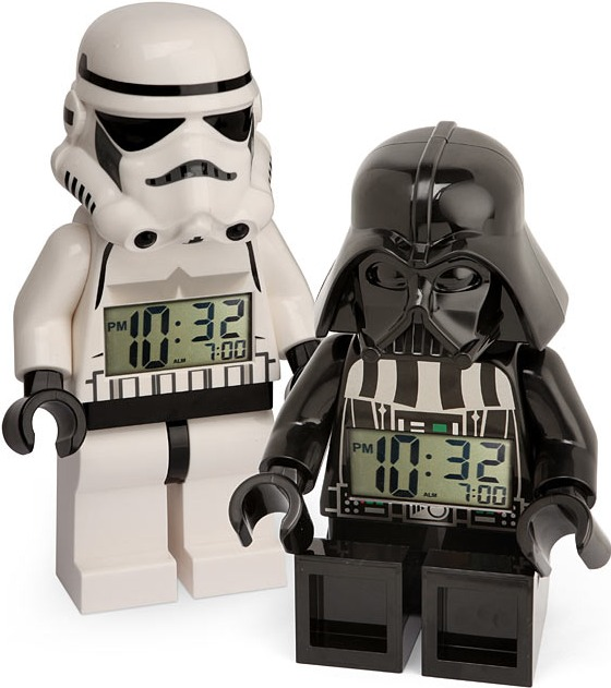 Star Wars LEGO Minifig Alarm Clocks