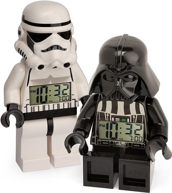 Star Wars LEGO Minifig Alarm Clocks