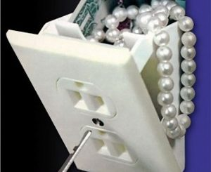 Electric Outlet Secret Safe
