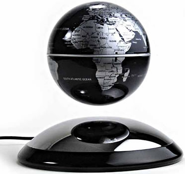 Electromagnetic Earth Globe