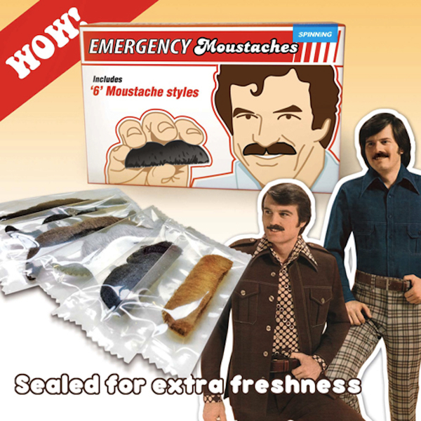 emergency mustaches