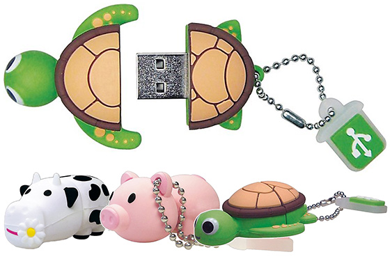 Emtec Animal Series USB Flash Drives