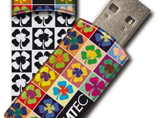Emtec Cloverleaf USB Flash Drive