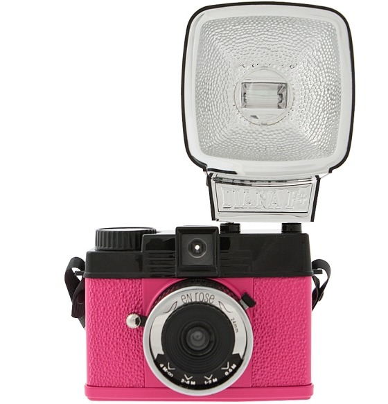 Pink New Camera from Lomography. Diana Mini En Rose is the name of the