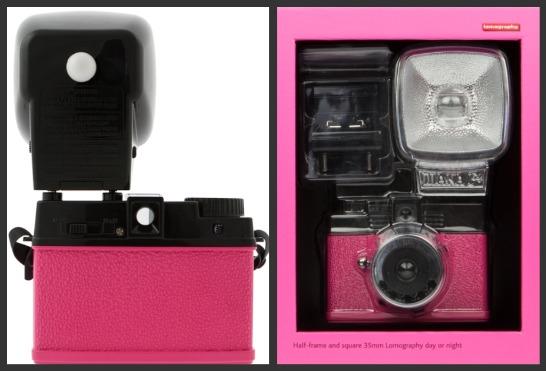 Pink cameras