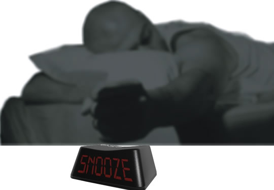 Escape Button Alarm Clock