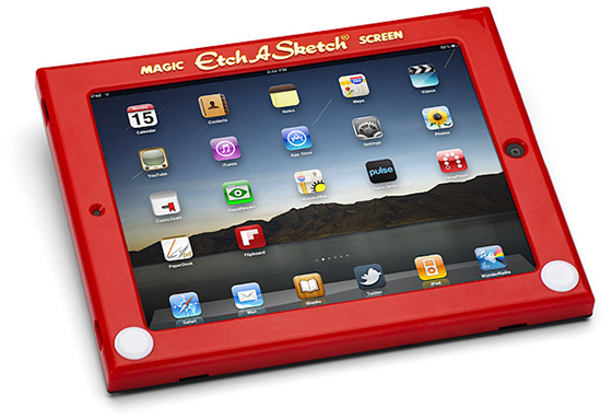Etch-A-Sketch iPad Case