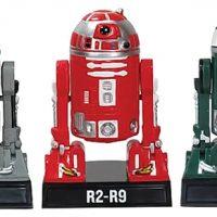 Star Wars R2-Q2, R2-R9, R2-X2 Droid Bobbleheads