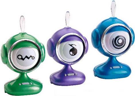 Interactive Eyeball Speaker