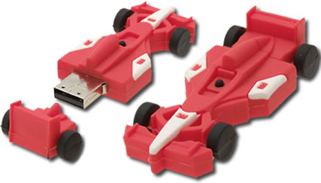 8GB Formula One USB Flash Drive