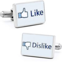 Facebook Like Cufflinks