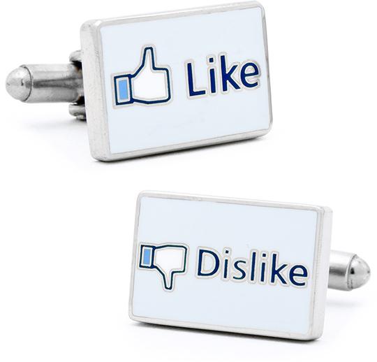 Facebook Like Cufflinks